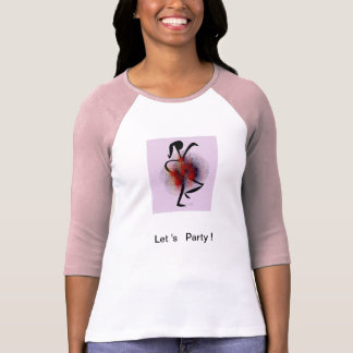 woman 3/4 sleeved T-shirt