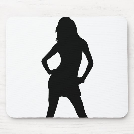Woman 5 mouse pad