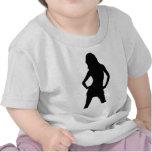 Woman 5 tshirts