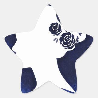 woman-776415.jpg star sticker