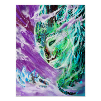 Woman (Abstract) Poster