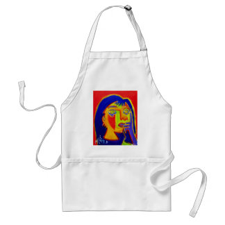 Woman Abstracted by Piliero Adult Apron