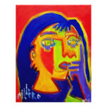 Woman Abstracted by Piliero Full Color Flyer