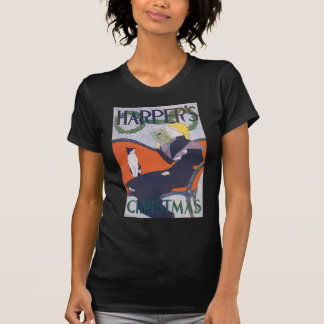 Woman and Cat, Edward Penfield Tshirt