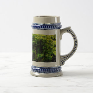 Woman and child beer stein