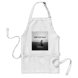 Woman and Dog - The Only Ones in the World Adult Apron