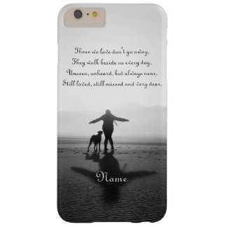 Woman and Dog - The Only Ones in the World Barely There iPhone 6 Plus Case