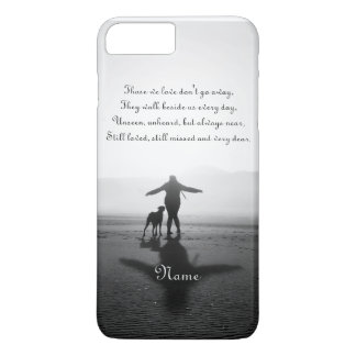 Woman and Dog - The Only Ones in the World iPhone 7 Plus Case