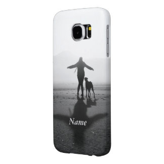 Woman and Dog - The Only Ones in the World Samsung Galaxy S6 Cases