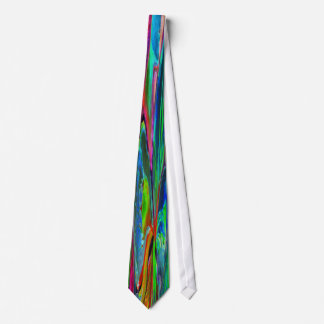 Woman and Flower, Bright Colours (m4sol) Tie