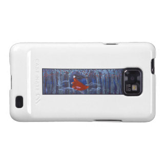 Woman and Forest Animal Spirits Samsung Galaxy Covers