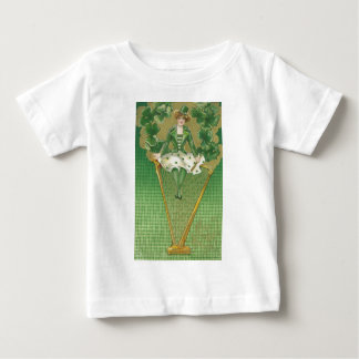 woman and harp infant t-shirt