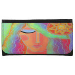 Woman and Sun Wallet