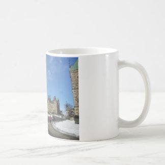 Woman at Canadian Parliament in Ottawa Coffee Mug