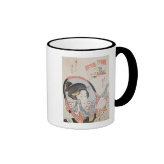 Woman at her Mirror, published c.1830 Coffee Mugs