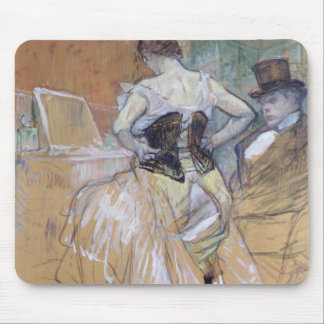 Woman at her Toilet, study for 'Elles', c.1896 Mouse Pad
