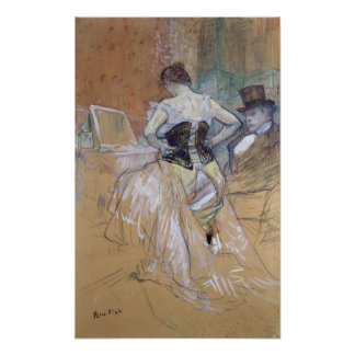 Woman at her Toilet, study for 'Elles', c.1896 Poster