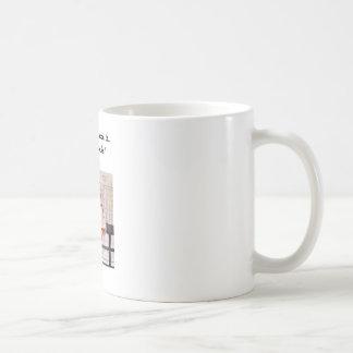 Woman at the links coffee mug