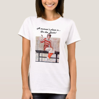 Woman at the links T-Shirt