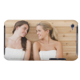 Woman at the spa iPod Case-Mate case