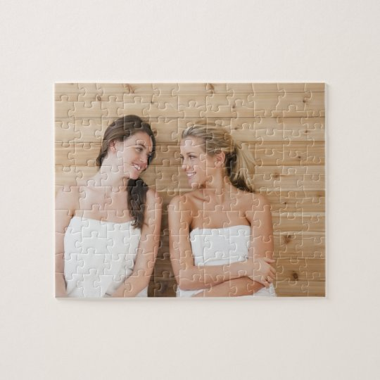 Woman at the spa jigsaw puzzle