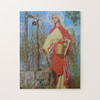Woman at the Well jigsaw Puzzle