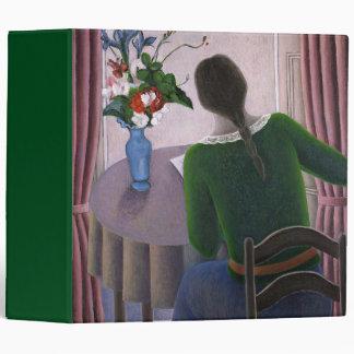 Woman at Window 1998 3 Ring Binder