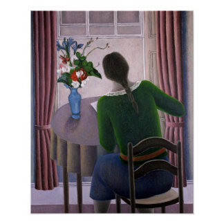 Woman at Window 1998 Poster