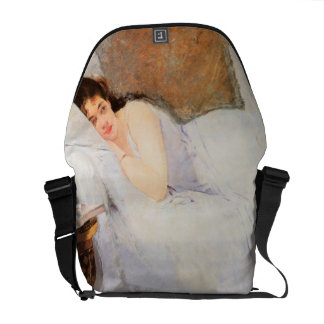 Woman Awakening, 1876 (oil on canvas) Courier Bag