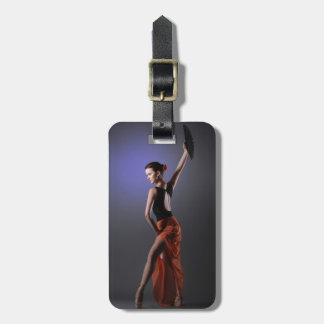 woman bag tag
