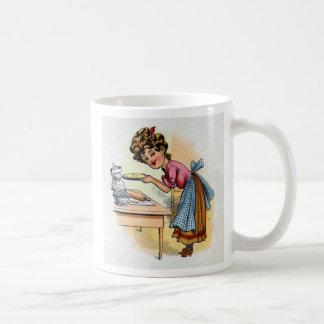Woman Baking Pies Mug