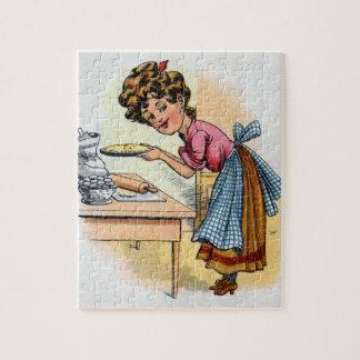 Woman Baking Pies Puzzles