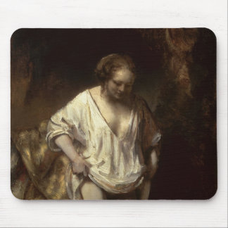 Woman Bathing in a Stream, 1654 Mouse Pad