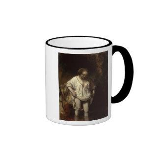 Woman Bathing in a Stream, 1654 Ringer Mug
