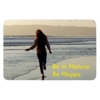 Woman Be in Nature Flexible Magnet