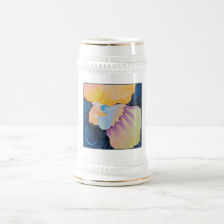 Woman. Beer Stein