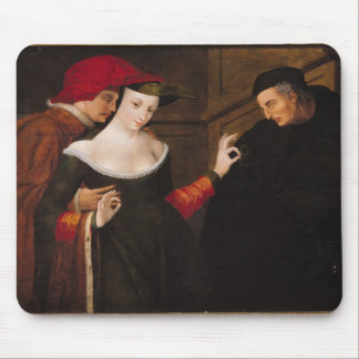 Woman Between Two Ages Mouse Pad