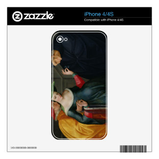 Woman Between Two Ages Skin For iPhone 4S