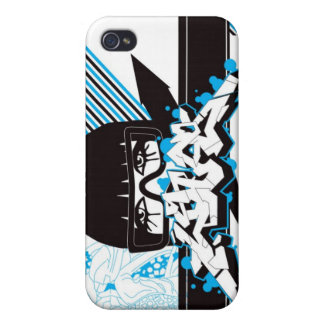 Woman - blue iPhone 4 cases