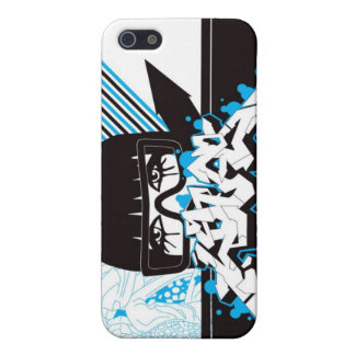 Woman - blue iPhone 5 cover