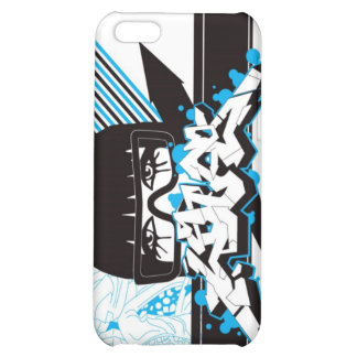 Woman - blue iPhone 5C cases