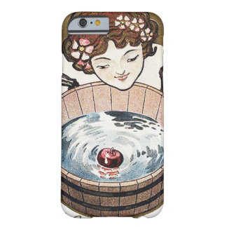 Woman Bobbing For Apples Halloween Party Barely There iPhone 6 Case