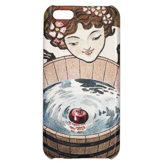 Woman Bobbing For Apples Halloween Party Case For iPhone 5C