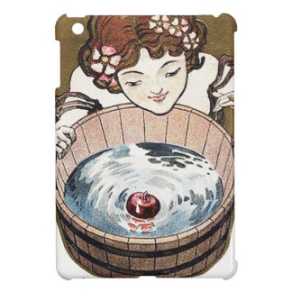 Woman Bobbing For Apples Halloween Party Case For The iPad Mini