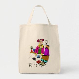 Woman Boss Office Tote Bag