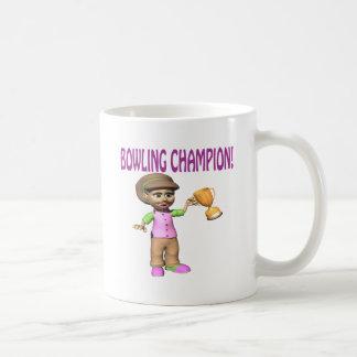 Woman Bowling Champion Coffee Mug