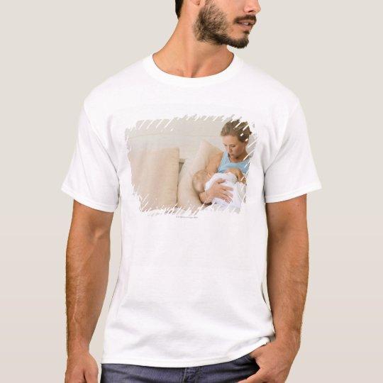 Woman breastfeeding baby T-Shirt
