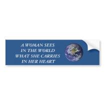 Woman Bumper Sticker
