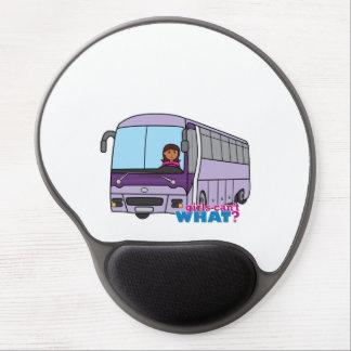 Woman Bus Driver Gel Mousepad