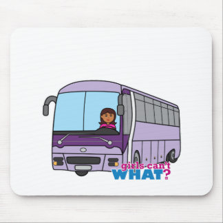 Woman Bus Driver Mouse Pad